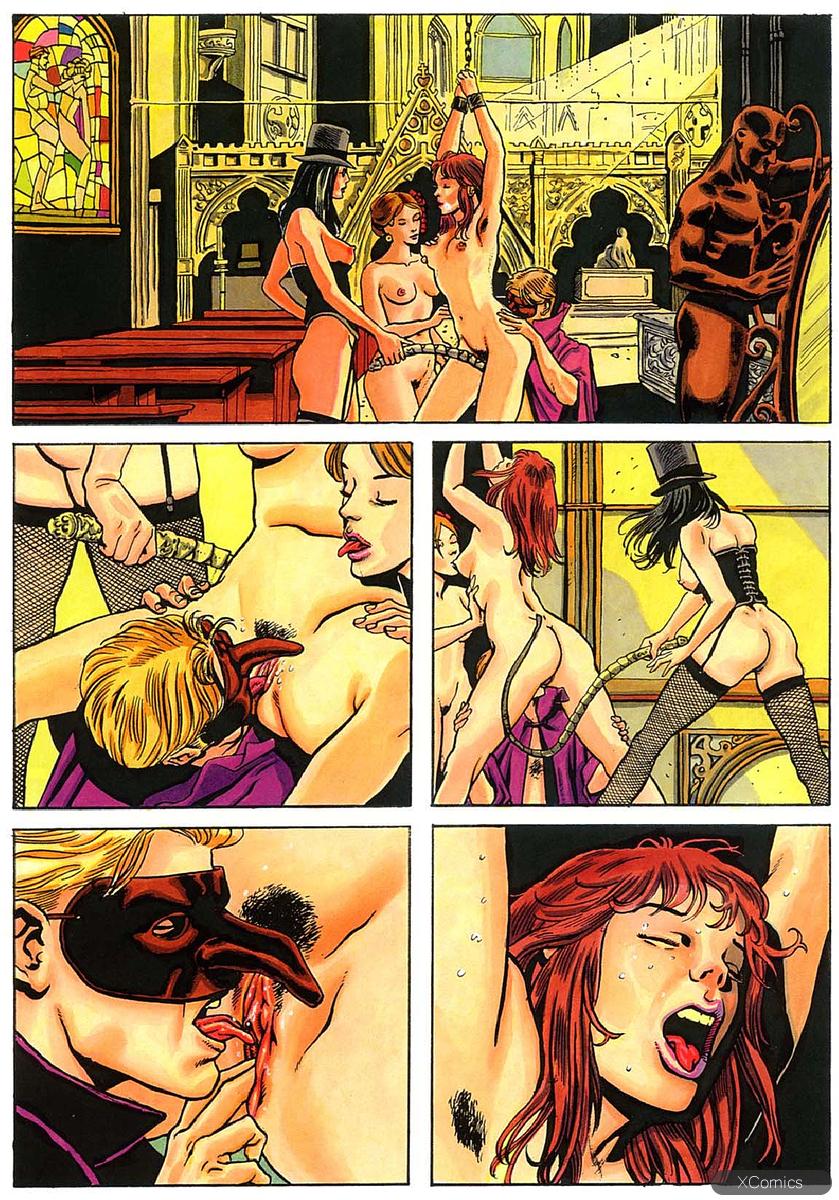 Секс Комиксы Целки