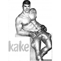 Erotic Comic - Tom of Finland - Kake 01