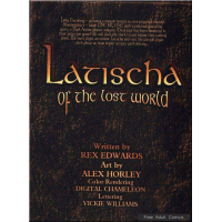 Erotic Comic - Horley  Alex - Latischa of the Lost World