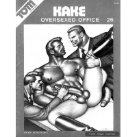 Erotic Comic - Tom of Finland - Kake 26 - Oversexed Office