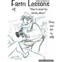 Erotic Comic - Jab - Farm Lesson  8 - How to shoot the family album