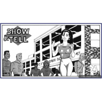 Erotic Comic - Taylor  Kevin - Girl - Show and Tell