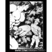 Erotic Comic - Tom of Finland - Tarzan