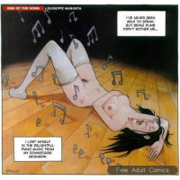 Erotic Comic - Manunta  Giuseppe - End of the Song