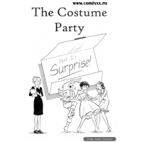 Erotic Comic - unknown Artist - The Costume Party - Part 02 - Suprise