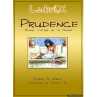 Erotic Comic - Lubrix - Prudence - Sexual Hostage in the Desert