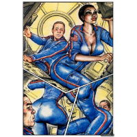 Erotic Comic - Lopez  F Solano - Sex in Space