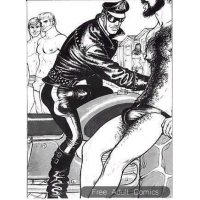 Erotic Comic - Tom of Finland - Plage II