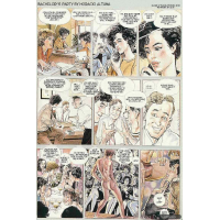 Erotic Comic - Altuna  Horacio - Bachelors Party